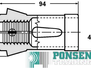 Spantang 173 E rond 3mm – 42mm
