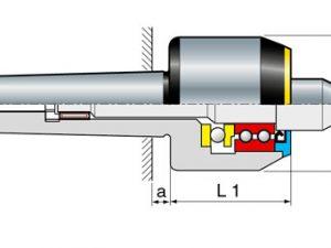 Sassatelli meedraaiende centers type GT-MG  60 gr. punt MK5
