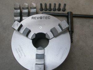 Revotec stalen zelfcentr. 3-klauwplaat 315mm DIN 55027 / 11