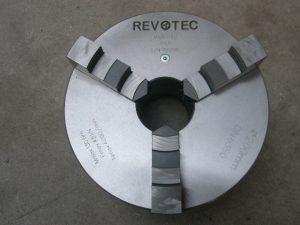 Revotec zelfcentr. 3-klauwplaat 100mm DIN 6350