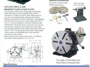 Verdeelapparaat CS-8″ Vertex