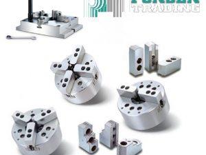 Chandox hydraulische CNC 3-Klauwplaat OP-212 A2-8″ 304mm