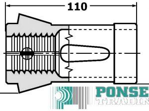 Spantang 185 E rond  4 – 60mm