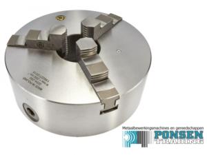 Bison 3-klauwplaat 100mm DIN 6350 3204-100