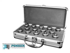 Spantangen set ER in aluminium koffer